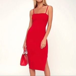 NWOT Lulu's Paulina Bodycon Dress
